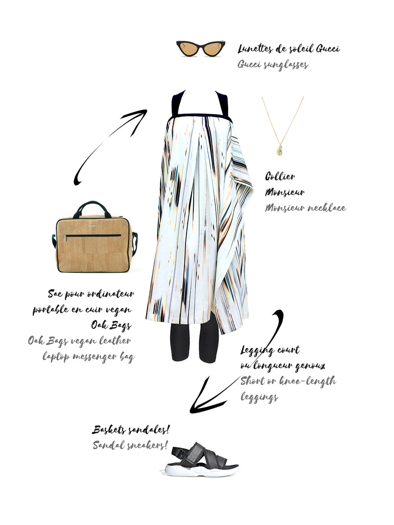 How to style the sundress in the city