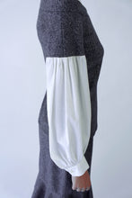 Load image into Gallery viewer, Wool blend lined Ruffled Skirt