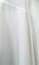 Load image into Gallery viewer, White Mixed-Cotton Asymmetric Stretch Dress