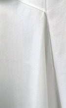Load image into Gallery viewer, White Mixed-Cotton Asymmetric Stretch Skirt