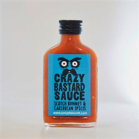 Scotch Bonnet & Caribbean Spices  - Crazy Bastard Sauce