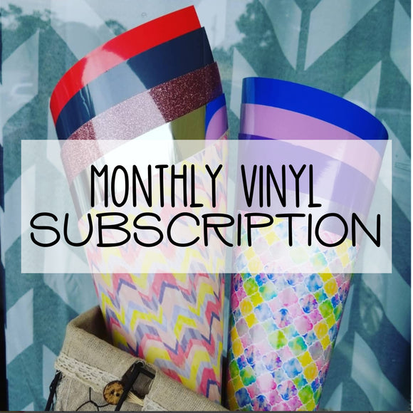 Monthly Vinyl Box