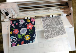 Cutting Fabric with Silhouette OR Cricut