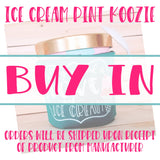 Ice Cream Pint Koozies