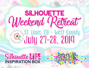 Silhouette Weekend Retreat - St Louis, MO West County - July 2019