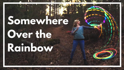 Somewhere Over the Rainbow LED Hoop Review