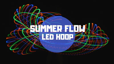 Yay, they're back! Customizable LED Hula Hoops!