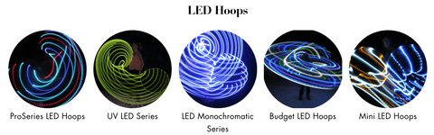 LED HOOPS at Autumn Flow