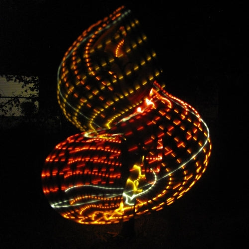 Autumn Flow LED Hoop
