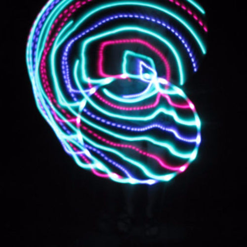 LED Hoops - Bali Blossoms