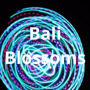 LED Mini Hoops - Bali Blossoms