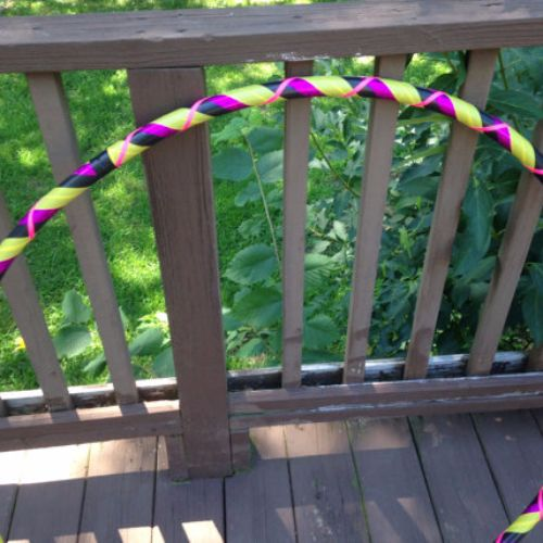 Beginner Hoops - Black Raspberry Lemonade Beginner Hula Hoop