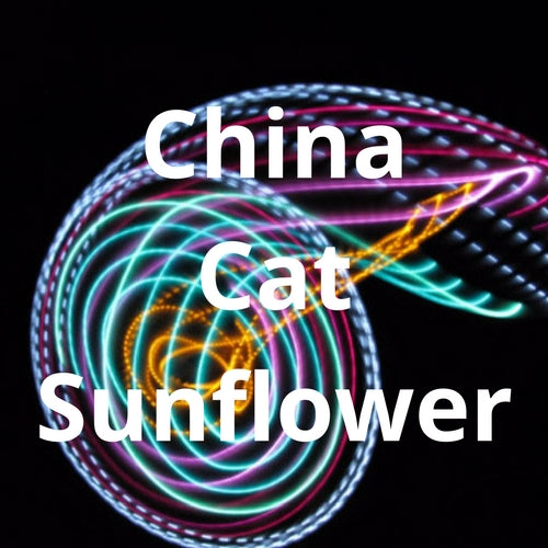 LED Mini Hoops - China Cat Sunflower