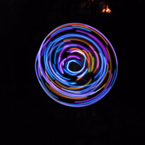 LED Hoops - Cosmic Charlie