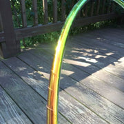 Taped Hoops - Fire Iridium Color Morph Taped Hoop