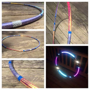 Reflective Hoops - Galaxy Invader Reflective Color Morph Hoop