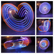 LED Hoops - Justo's Wings