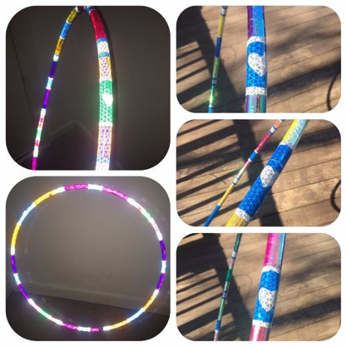 Reflective Hoops - Lovelight Reflective Color Morph Hoop