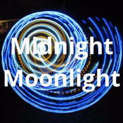 LED Mini Hoops - Midnight Moonlight
