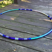Reflective Hoops - Nebula Invader Reflective Color Morph Hoop