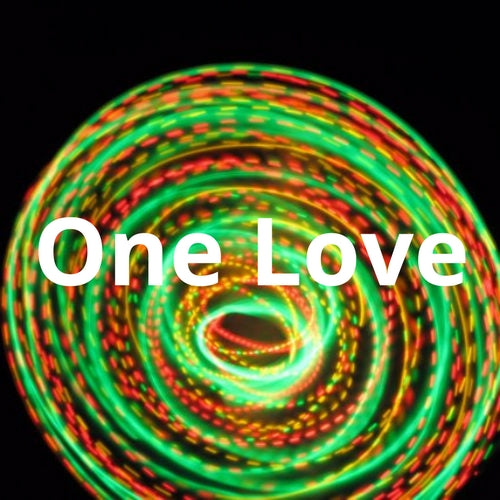 LED Mini Hoops - One Love