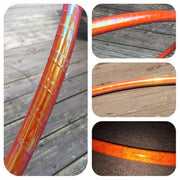 Reflective Hoops - Orange Opal Reflective Color Morph Hoop