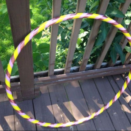 Beginner Hoops - Pink Sunset