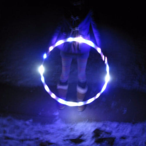 LED Hoops - Purple Rain