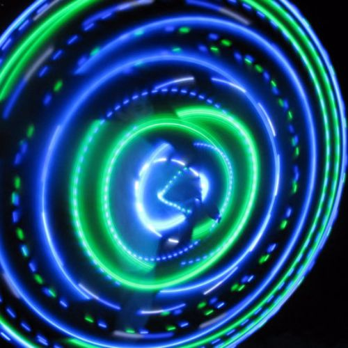 LED Hoops - River Trance