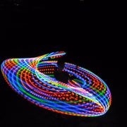 Somewhere Over the Rainbow LED Hoop