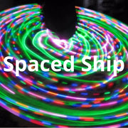 LED Mini Hoops - Spaced Ship