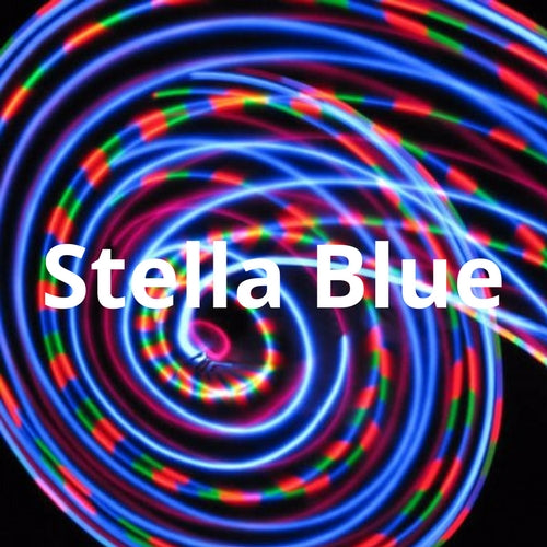 LED Mini Hoops - Stella Blue