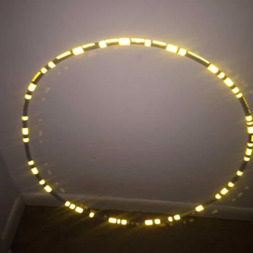 Reflective Hoops - Yellow Brick Road Reflective Hoop