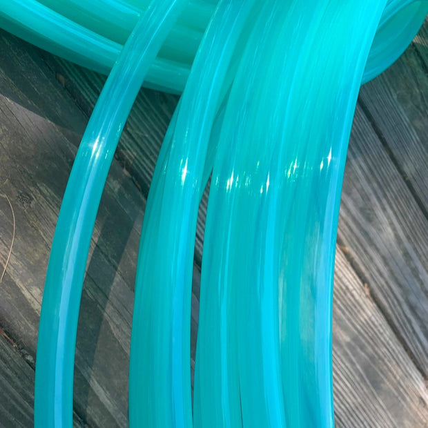 UV Teal Fusion Glossy Polypro Hoop