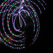 Cheap LED Hoops - Strawberry Fields