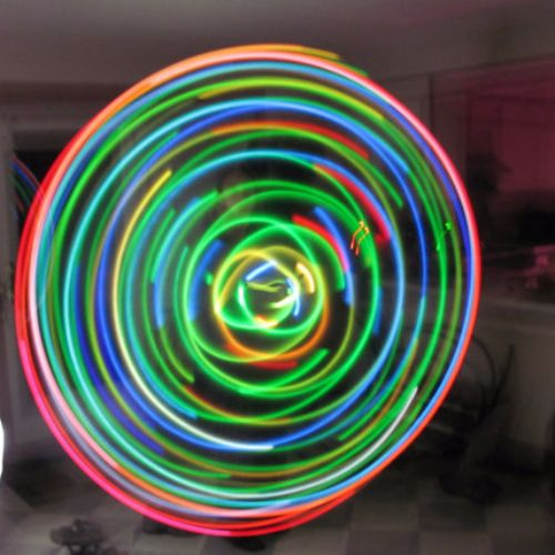 Crypical Envelopment Budget LED Hoop