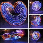 Cheap LED Hoops - Justo's Wings