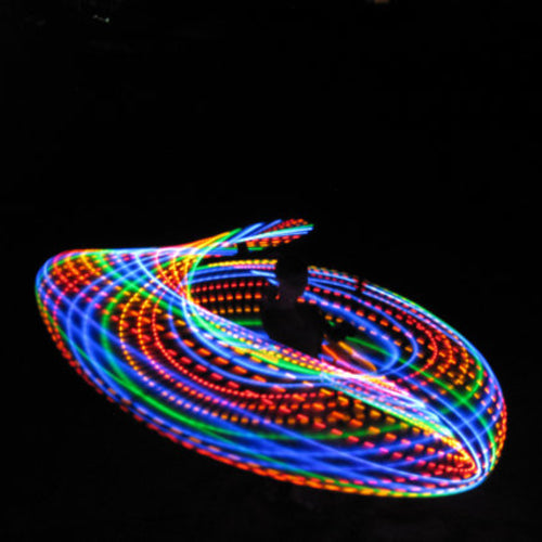 Cheap LED Hoops - Somewhere Over the Rainbow