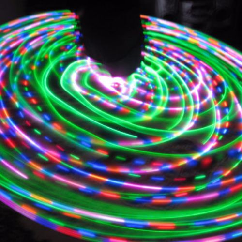 Cheap LED Hoops - Spaced Ship