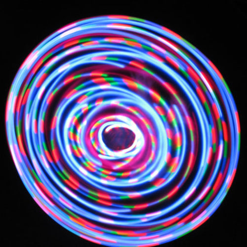 Cheap LED Hoops - Stella Blue