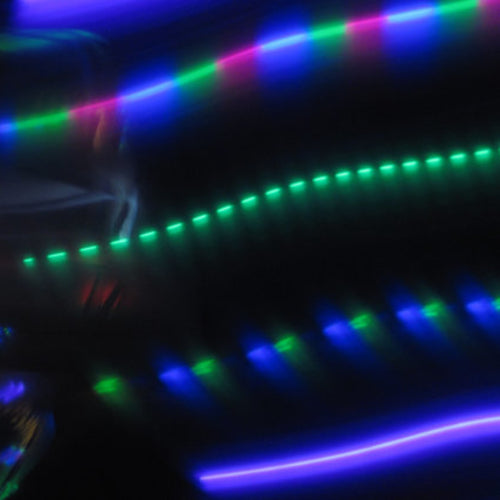 Cheap LED Hoops - Viola Lee Blues
