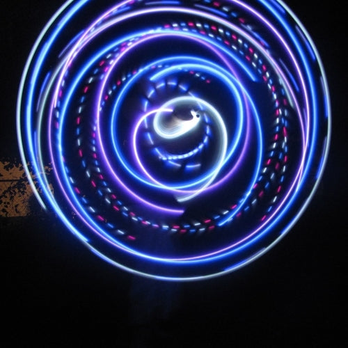 Cheap LED Hoops - Purple Rain