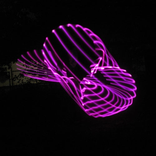 LED Hoops - Pinkalicious Monochromatic