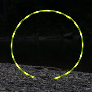 UV Yellow Polypro LED Hoop