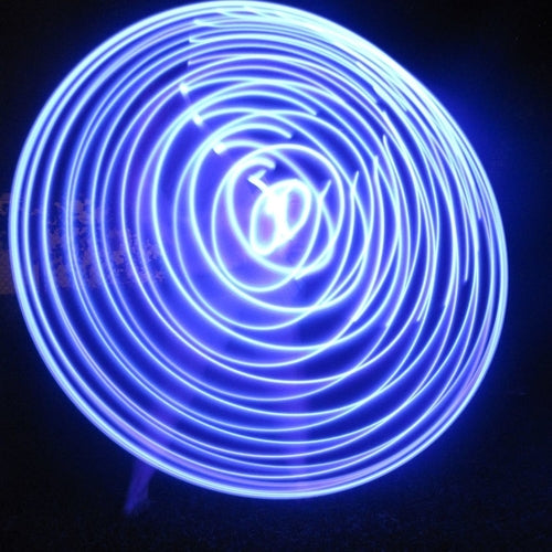 LED Hoops - Violet Vibes Monochromatic