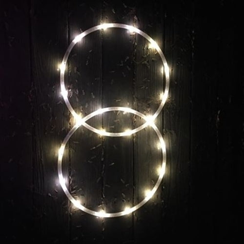LED Mini Hoops - Golden Goose Eggs