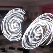 LED Mini Hoops - Lazy Lightning