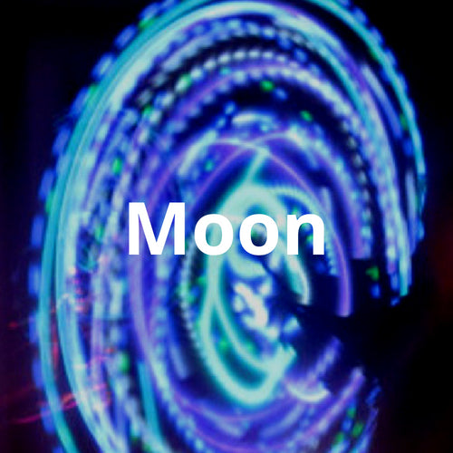 LED Mini Hoops - Moon