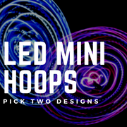 LED Mini Hoops