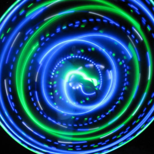 LED Mini Hoops - River Trance